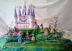 Coolest Castle Cake for a Little Princess... Coolest Birthday Cake Ideas