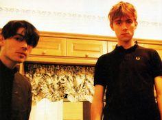 Blur's Alex James & Damon Albarn, Vox Magazine, 1994.