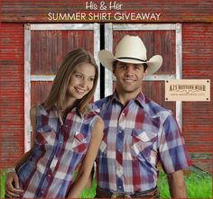 Register to win at www.westernshirts.com/giveaway!