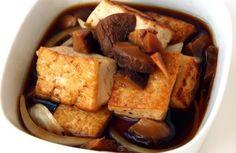 Dubu-jangajji (Tofu pickles) Korean Recipes, Tofu Recipes, Korean Food, Vegetarian Recipes, Korean Side Dishes, Fusion Food, Vegan Foods, Vegan Meals, No Cook Meals