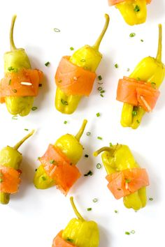Stuffed Pepperoncini with Smoked Salmon  Recipe - Saveur.com