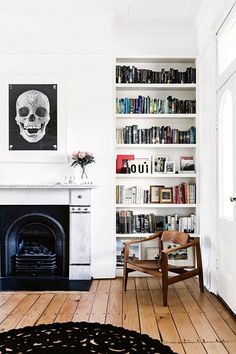 Eclectic London style reigns in this Surry Hills terrace Fashion-forward couple Nicola and Orlando Reindorf's home is a study in eclectic London style. Victorian Terrace House, Victorian Living Room, Victorian Homes, Home Living Room, Living Room Decor, Living Area, Living Spaces, Sydney, House Ideas