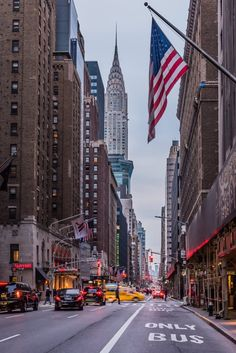 New York City Feelings - View of Chrysler Building from Lexington Ave #NYC...
