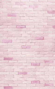 New Ideas Wall Paper Phone Inspiration Brick Wall Wallpaper, Brick Wall Background, Bts Wallpaper, Iphone Wallpaper, Chevron Wallpaper, Pink Art, Pastel Pink, Grass Texture, Texture Art