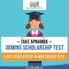 Get Scholarship in MBA courses fees with ApnaMBA .  Apply Now: http://qoo.ly/it82w  #ApnaMBA #Education #MBA #Career #Success #Scholarship