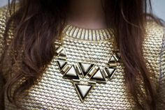 want this gold sweater so bad... keep seeing it on style blogs everywhere...