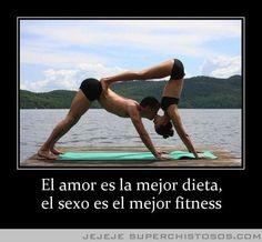 El Amor Es La Mejor Dieta El Sexo Es El Mejor Fitness