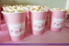 ready to pop baby shower ideas | ... Pumpkin Blog: 'Ready To Pop' Popcorn Cups {Pink Flavoured Baby Shower