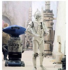 The mean streets of Mos Eisley, from Star Wars (1977)