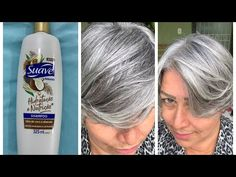 Blonde Hair With Highlights, Brown Blonde Hair, Balayage Brunette, Balayage Hair, Suave Shampoo, Silver Hair Dye, Grey Hair Transformation, Curly Hair Routine, Short Hair With Layers