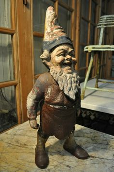 1880-terra-cotta-garden-gnome decorative-objects Nord Ouest Antiquités