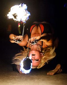 Fire Poi amazing photo