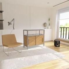 Πάγκος εξυπηρέτησης καταστημάτων με βιτρίνα έκθεσης και αποθηκευτικό χώρο Entryway Bench, Divider, Room, Furniture, Home Decor, Cabinets, Entry Bench, Bedroom, Hall Bench