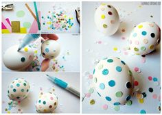 Easter Eggs | 26 Cute And Novel Ways To Use Confetti