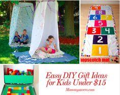 Easy DIY Gift Ideas for Kids Under $15