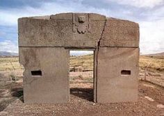 Puma Punku in Tiahuanaco South America...master builders before the pyramids.