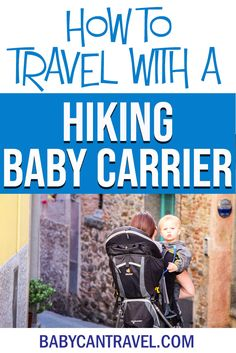 You can bring a hiking backpack carrier on the airplane! Click to learn everything you need to know about travel with a hiking baby carrier! #babytravel #babytravelgear #toddlertravel #toddlertravelgear Baby Hiking Backpack, Best Hiking Backpacks, Hiking Baby Carrier, Best Baby Carrier, Toddler Travel, Travel With Kids, Traveling With Baby, Traveling By Yourself, Airplane Activities
