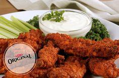 Doigts de poulet cuits au four