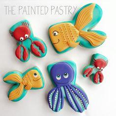 Super Cute Ocean Cookies