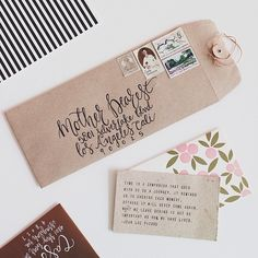 Love the idea of sending unusual interesting shaped snail mail! Envelope Art, Envelope Design, Calligraphy Envelope, Mail Art Envelopes, Addressing Envelopes, Snail Mail Pen Pals, Pretty Writing, Pen Pal Letters, Happy Mail