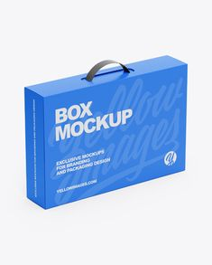 Paper Box With Handle Mockup in Box Mockups on Yellow Images Object Mockups – Schmuckpaket Phone Mockup, Box Mockup, Mockup Templates, Free Design, Box Design, Best Logo Design, Paper Paper, Free Paper, Ipad