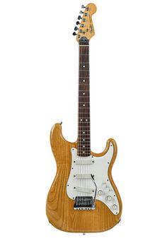 Fender Fender Elite Stratocaster Natural 1983 Fender Usa, Eric Clapton, Black Felt, The Originals, Natural, Classic, Modern, Design, Derby