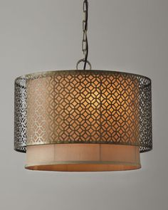 """Zoom +                           """"Cage"""" Chandelier"""