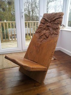 Keyed Chair - Arbtalk.co.uk | Discussion Forum for Arborists