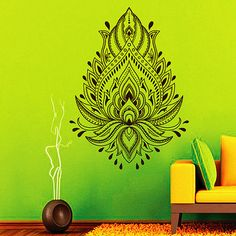 Wall Stickers Frugal Dctal Buddha Quotes Namaste Wall Decals Yoga Mandala Wall Stickers Living Rooms Diy Home Decor Yoga Lotus Decoration