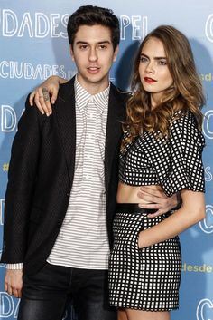 """Cara Delevingne attends the """"Paper Towns"""" (Ciudades de Papel) photocall at the Villamagna Hotel on June 15, 2015 in Madrid, Spain."""