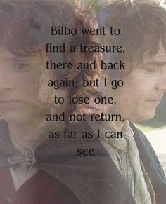 Bilbo and Frodo. Edit by Neth Ohtar ((RIGHT in the feels))