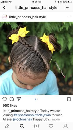 trendy-hairstyles-for-girls - Fab New Hairstyle 1 Ballet Hairstyles, Baby Girl Hairstyles, Princess Hairstyles, Trendy Hairstyles, Braided Hairstyles, Little Princess, Curly Hair Styles, Natural Hair Styles, Girl Hair Dos