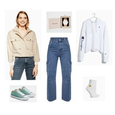 12b8e7af6639 BTS Persona Fashion  3 Looks Inspired by the Trailer. Cream JacketGreen  SneakersWhite ...