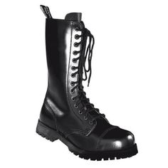 Boots & Braces Stiefel 14-Loch Rangers Schwarz - http://on-line-kaufen.de/boots-braces/boots-braces-stiefel-14-loch-rangers-schwarz