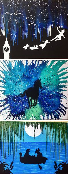 Melted Crayon Art by Crayon Gogh