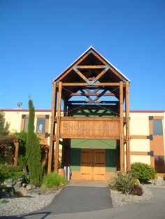Snoqualmie winery entrance