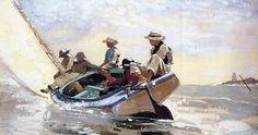 'Sailing the Catboat'