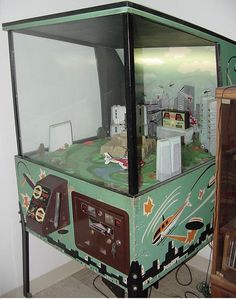 1974 Midway Chopper helicopter coin operated flying arcade game