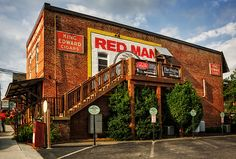 Red Man Gold Blend. Old Fannin Tobacco and Candy Company. Blue Ridge, GA