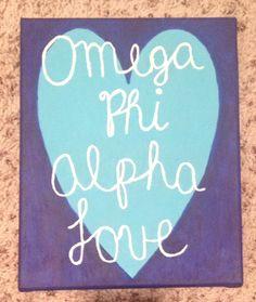 Omega Phi Alpha Love <3 For my little :)