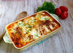 Baked Ravioli in Basil Marinara Sauce - La Bella Vita Cucina