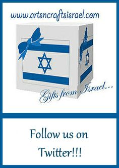 https://twitter.com/craftsisrael Special offers and more!!!