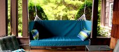 The Kennebunkport | Penobscot Bay Porch Swings