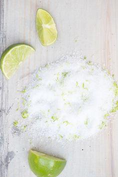 Lime Infused Salt - Sugar and Charm