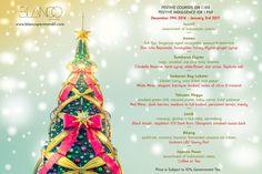 Festive Indulgence at Blanco Par Mandif, Ubud Book Restaurant, Bali Travel, Ubud, Glasgow, Festive, Christmas, Yule, Xmas, Christmas Movies