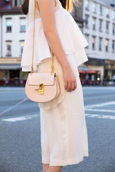 shades of white #chloe drew bag