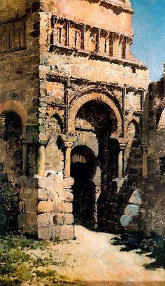 Puerta de Bisagra por Casimiro Sanz