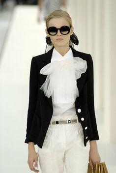Chanel Spring 2007 RTW White Shirt