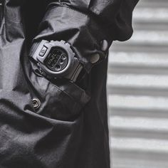 The black matte, monochrome series – reinforced toughness using CORDURA® nylon fabric band, a material both light and strong. G Shock Watches, Casio G Shock, Watches For Men, Wrist Watches, Men's Watches, Tactical Watch, G Shock Men, Watches Photography, Tactical Equipment