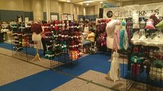 A closer look at some of the stalls at Houston Fiber Fest 2016